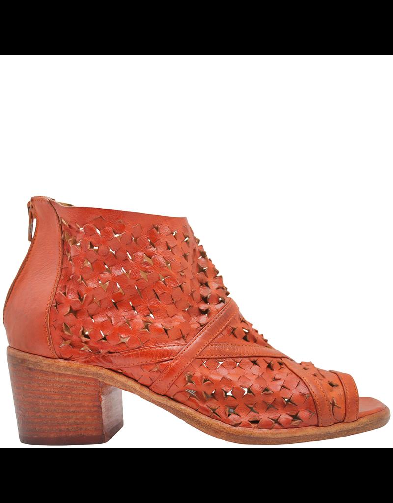 Elena Iachi Strategia  Orange Caged Sandal 4541