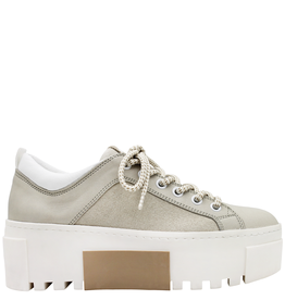 VicMatie Vic Matie Low Top Linen Sneaker 8324