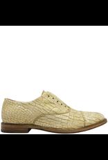 Moma Moma Gold Wash Croco Enbossed Calf No Lace Oxford 9091