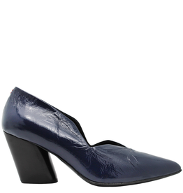 Halmanera Halmanera Blue Patent Medium Heel Pump 2008