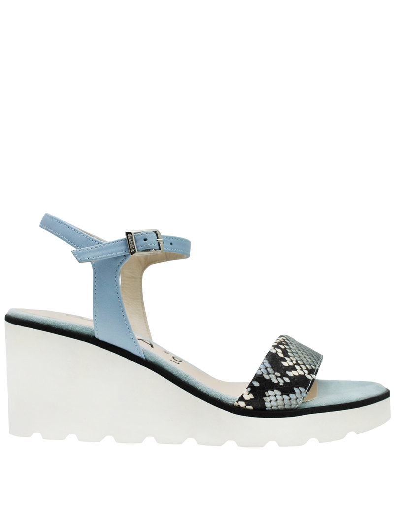 Gadea Gadea Sky Buckled Wedge With White Light Weight Sole 1029