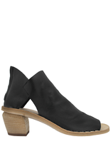 Officine Creative OfficineCreative Black Sandal With Back Zipper Meena