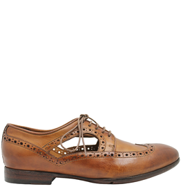 LeMargo LeMargo Cognac Lace-Up Open Sides 2202