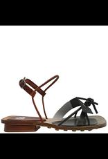 Ixos Ixos Juniper White Asym Sandal/ Camel Buckle Closure 3005