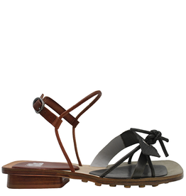 Ixos Ixos Juniper White Asym Sandal/ Camel Buckle Closure 3005