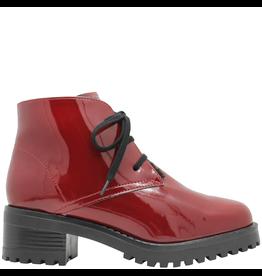 PalmrothOriginal PalmrothOriginals Red Patent Waterproof Lace-Up Desert Boot 8315