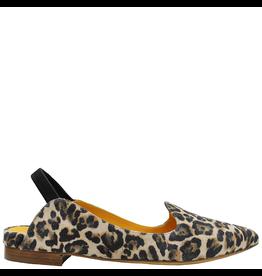 MaraBini MaraBini Cheetah Pointed Sling Loafer 7415