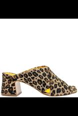MaraBini MaraBini Cheetah Criss Cross Open Toe Mule 7422