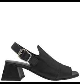 Laura Bellariva Laura Bellariva Black Calf Sling Sandal 5267