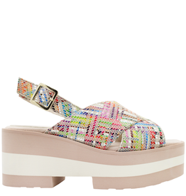 Gadea Gadea Multi Nude Wedge 1074