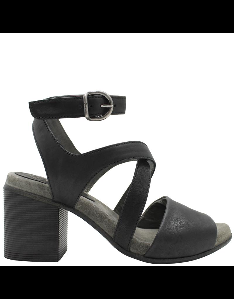 Fiorentini+Baker Fiorentini+Baker Black Ankle Strap Sandal Tulsa
