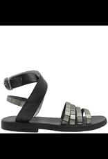 Fiorentini+Baker Fiorentini+Baker Metal and Black Ankle Strap Sandal Zaky