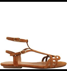 ChieMihara ChieMihara Curry Suede Double Buckle Art Deco Sandal Yael