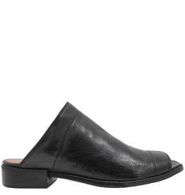 LeMargo LeMargo Black Mule With Open Toe 2222