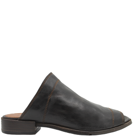 LeMargo LeMargo Brown Mule With Open Toe 2222