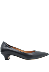 MaraBini MaraBini Blue Low Heel Pump 7270