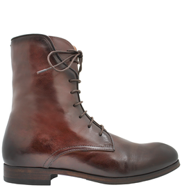 Pantanetti Pantanetti Chestnut Flat Lace-Up Boot 1220