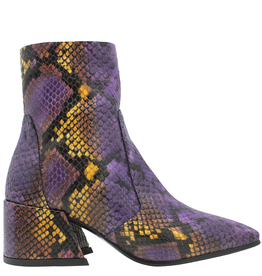 Elena Iachi ElenaIachi Purple Snake Mid-Calf Square Toe Boot 1945