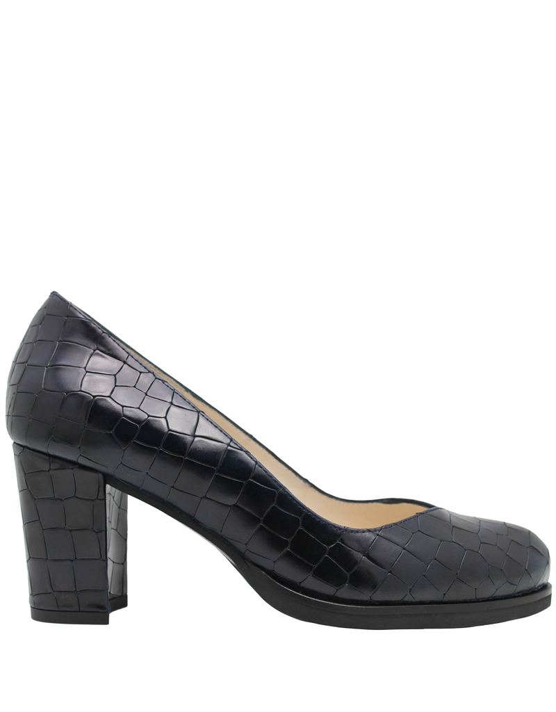 Gadea Gadea Blue Croco V Pump 5182