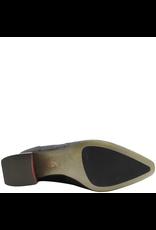 Ixos Ixos Black Nappa Knee Boot With Embroidered Detail 7094