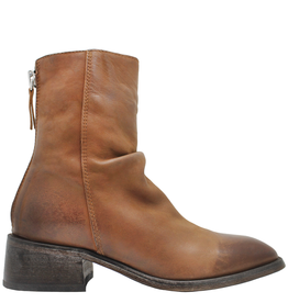 Moma Moma Brandy  Back Zipper Ankle Boot With Square Toe 9610