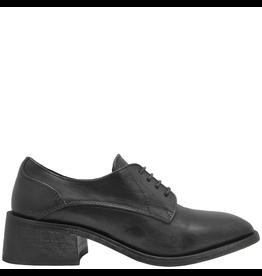 Moma Moma Black Square Toe Lace-Up Shoe 9810