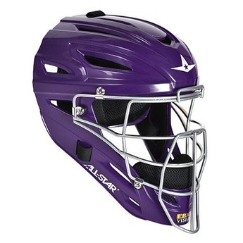 All Star System Seven Youth Solid Gloss Catching Helmet - MVP2510