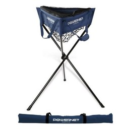 PowerNet Zippered Removable Ball Caddy - NAVY