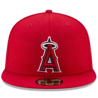 ... Los Angeles Angels New Era MLB Authentic Collection 59Fifty Cap ... c8541ad2224