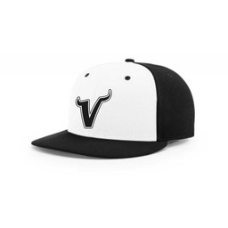 Valencia Baseball Richardson PTS65 Fitted - Alternate White/Black Cap