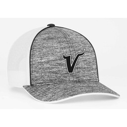 Valencia Baseball Pacific Headwear Heather Mesh OSFA - 106C