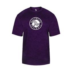 Valencia Baseball Badger Tonal Blend Jersey - 4171 Purple