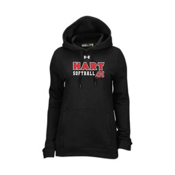 Hart Softball UA Women's Hustle Fleece Hoodie - Black