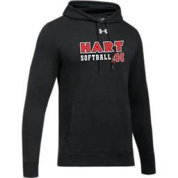 Hart Softball UA Hustle Fleece Hoodie - Black
