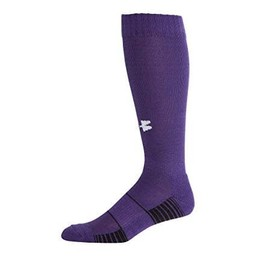 EHS Baseball Under Armour Performance Socks - U457 Purple/White