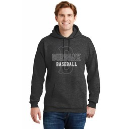 Burbank Baseball Hanes Men's Ultimate Cotton Heavyweight Pullover Hoodie- F170