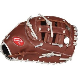 "Rawlings R9 Series 12.5"" Fastpitch 1st Base Mitt - R9SBFBM-17DB"
