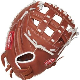 "Rawlings R9 Series 33 "" Fastpitch Catcher's Mitt - R9SBCM33-24DB"