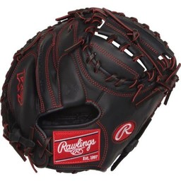 "Rawlings R9 Series 32"" Pro Taper Baseball Catcher's Mitt - R9YPTCM32B"