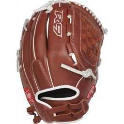 "Rawlings R9 Series 12.5"" Fingershift Fastpitch Outfield Glove - R9SB125FS-3DB"