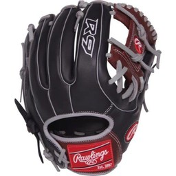 "Rawlings R9 Series 11.5"" Infield Narrow Fit Baseball Glove - R9314-2BSG"
