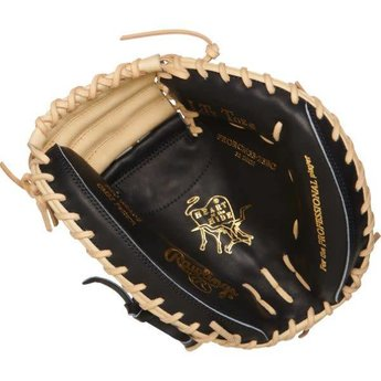 "Rawlings Heart of the Hide R2G Series 33"" Catcher's Mitt - PRORCM33-23BC"