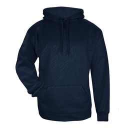 Badger Line Embossed  Youth Hoodie  - 2431