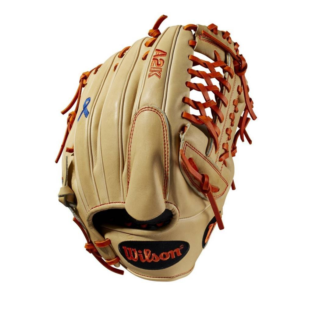 MARK MELANCON GAME MODEL CUSTOM A2K CJW GLOVE - MAY 2018