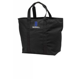 Burbank Baseball All Purpose Tote  Black - B5000