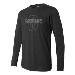 Burbank Baseball  Canvas Long Sleeve Jersey Tee - 3501