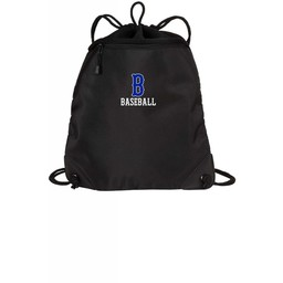 Burbank Baseball Cinch Bag BG810 Black