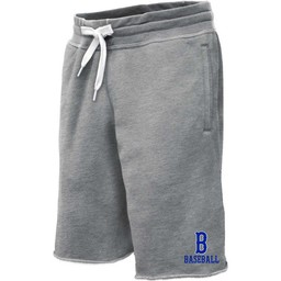 Burbank Baseball  Pennant Sweat Shorts Grey - 8207