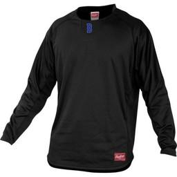 Burbank Baseball Rawlings Men's Dugout Fleece Pullover-UDFP3