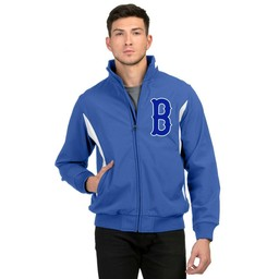 Burbank  Baseball - 6430 Prometheus Jacket Royal/White